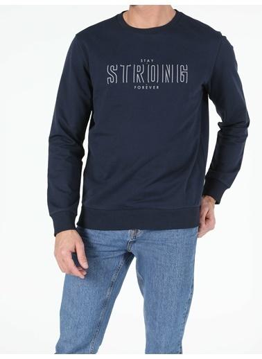 Colin's Regular Fit Erkek Lacivert Sweatshirt Lacivert